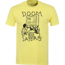 Camiseta Doom Sayers Club Kill Television Amarilla